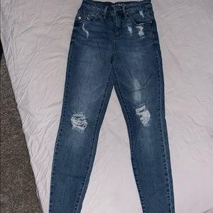 Wild fable distressed high waisted jeans